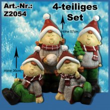 Winterkinder 4-teiliges Set